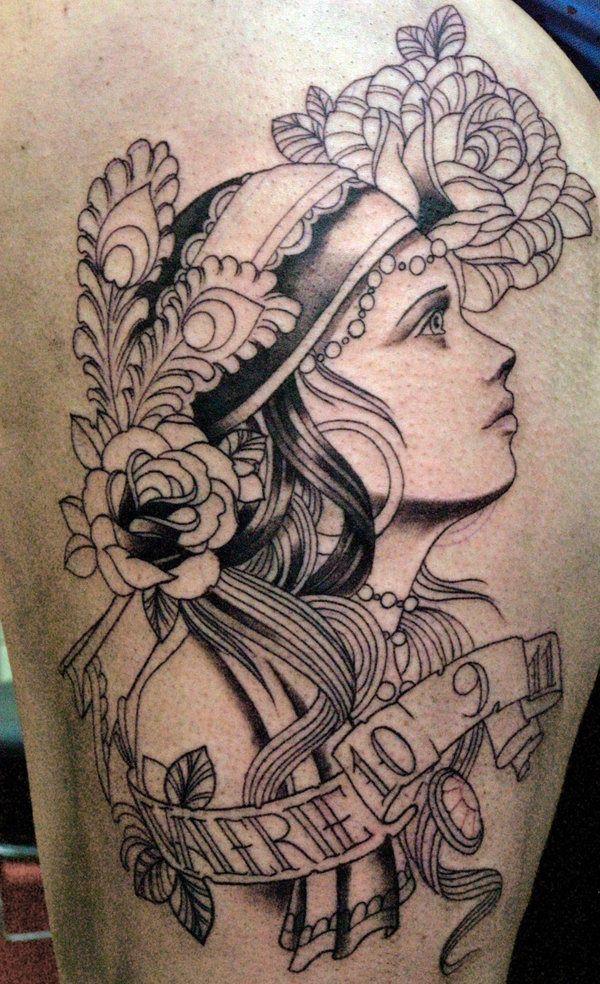 Tattoo Zigeunerin