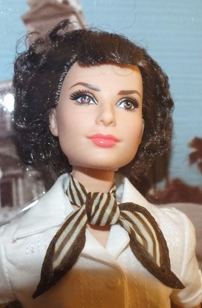 Audrey Hepburn In Roman Holiday 2013 Barbie Doll~NRFB #DollswithClothingAccessories