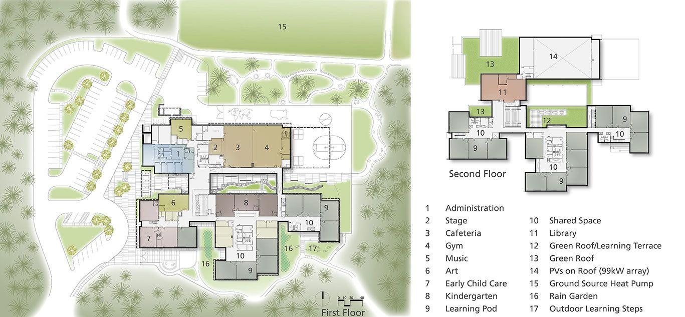 Cherry Crest Elementary School Bellevue School District Bellevue Washington Nac Architecture Architects In Seattle Elementary Schools Elementary School