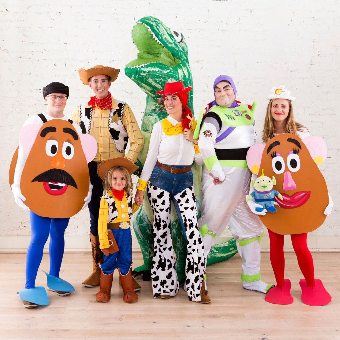 Reach for the Sky With This 'Toy Story' Group Halloween Costume #grouphalloweencostumes