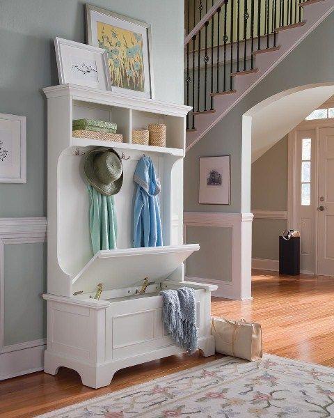 Mobili per l\'ingresso di casa | HOME | Pinterest | Shabby, Hall and ...