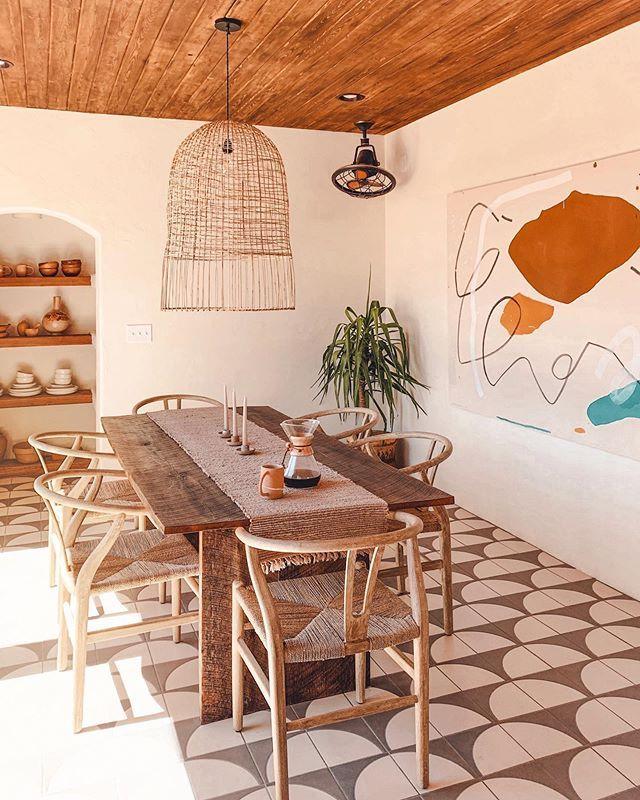Posada By The Joshua Tree House Sagauro National Park Tucson Az Airbnb House Interior Home Decor Dining Room Decor