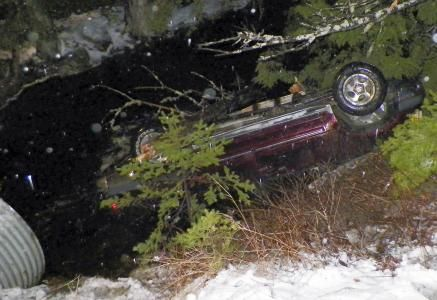 Police: Man crawled into sunken car, saved baby - Charter.net
