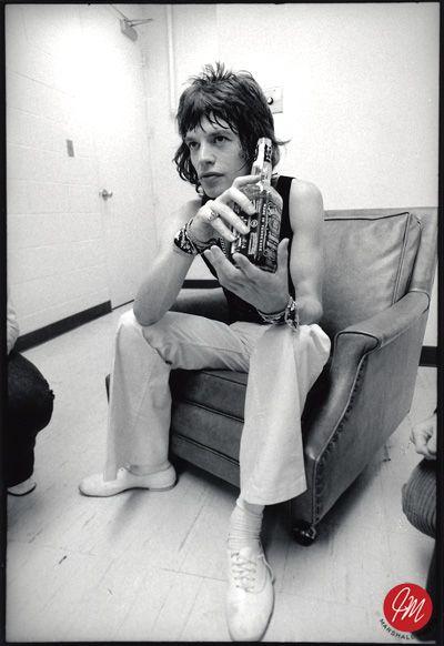 Mick Jagger, by Jim Marshall