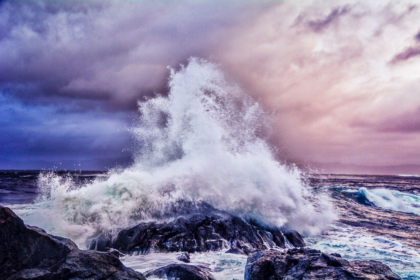 Storm Wave at Kråkenes II -