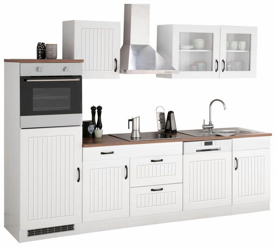 Küche 280 Cm Mit Elektrogeräten