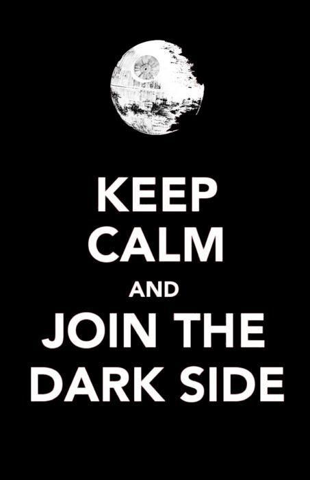 keep calm vs Star Wars
