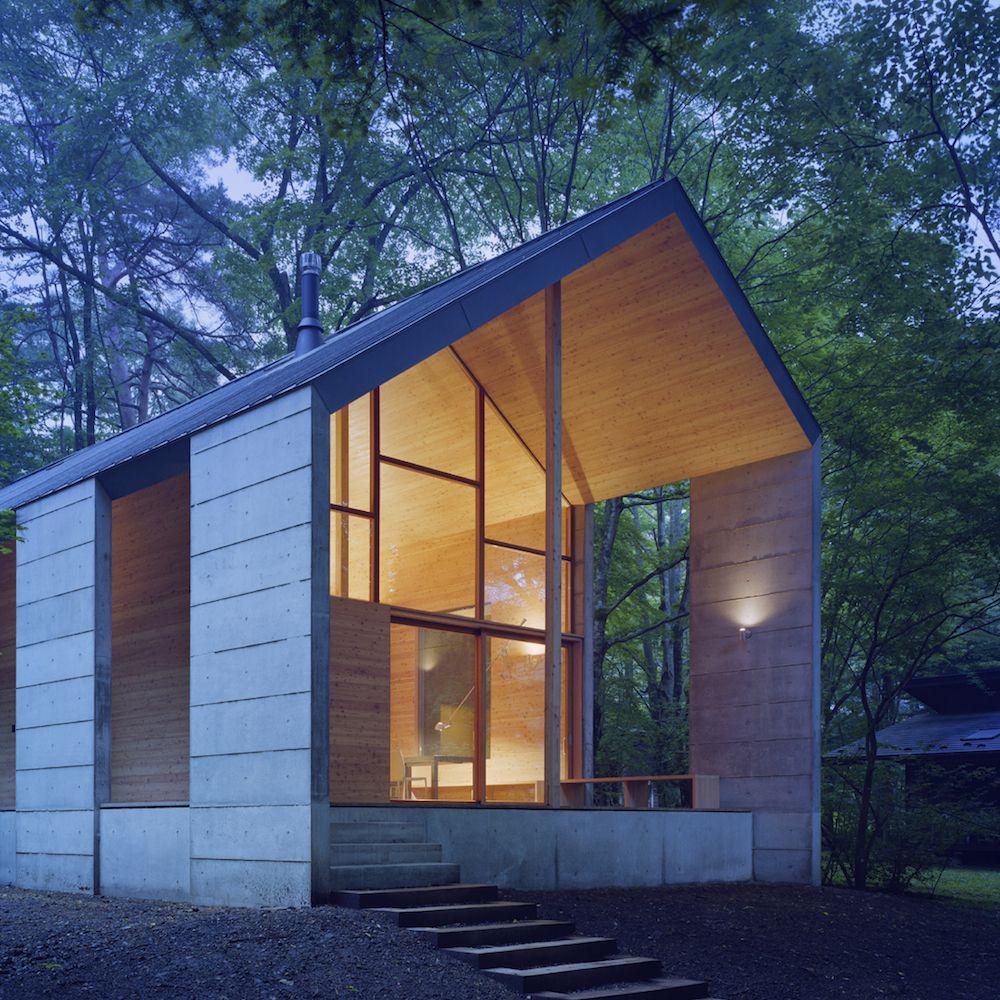 Beautiful Omizubata N House In The Forest Of Karuizawa By Iida Archiship Studio