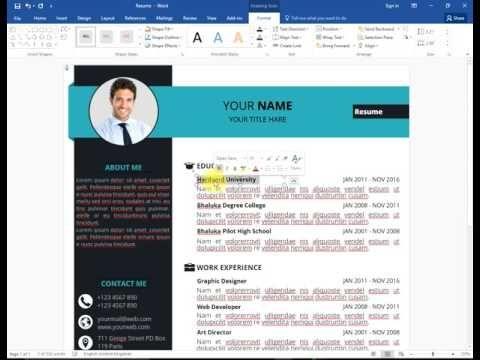 The Cv Resume Cover Letter For Resume Resume Words
