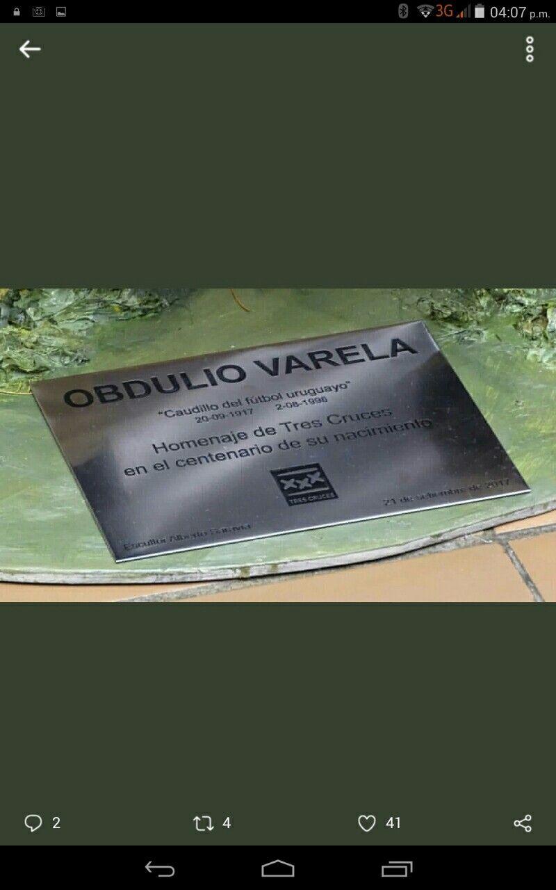 Homenaje a Obdulio Varela La Celeste
