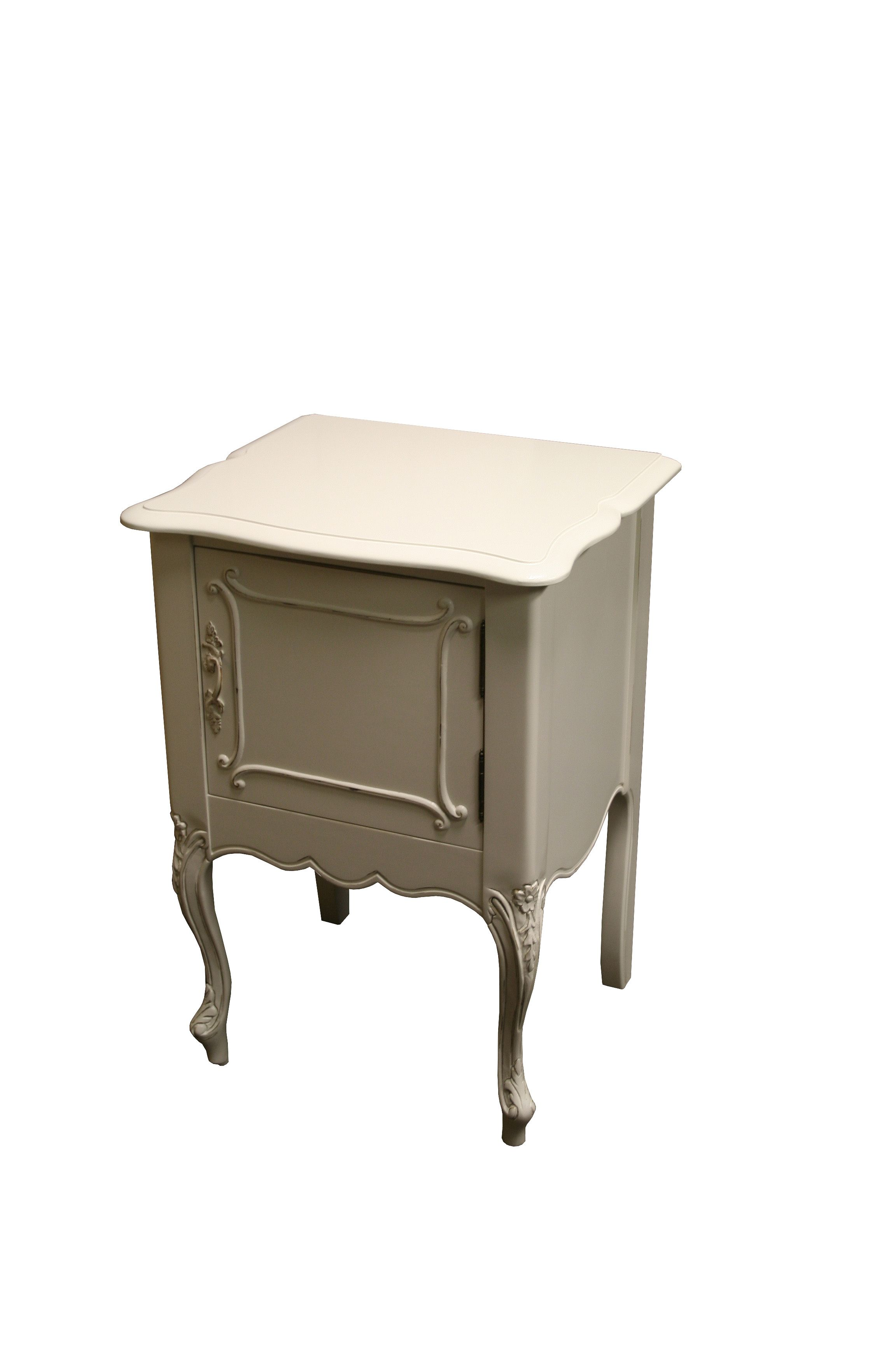 Country French Nightstand, One Door | Nightstands | Pinterest ...