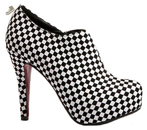 Easemax Women's Fashionable Round Toe Platform High Heel