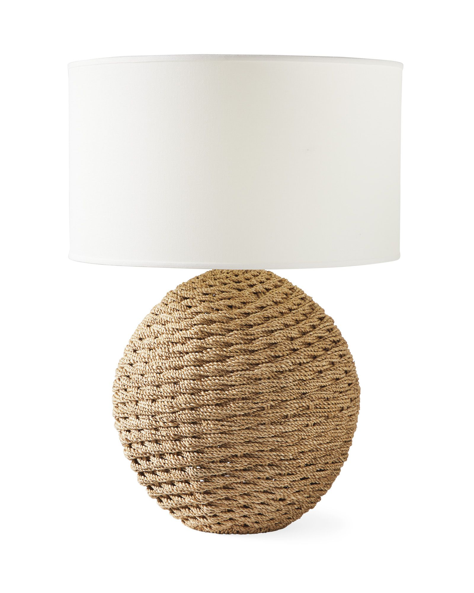 Abbott Table Lamp Earthy Home Decor Round Table Lamp Earthy Home