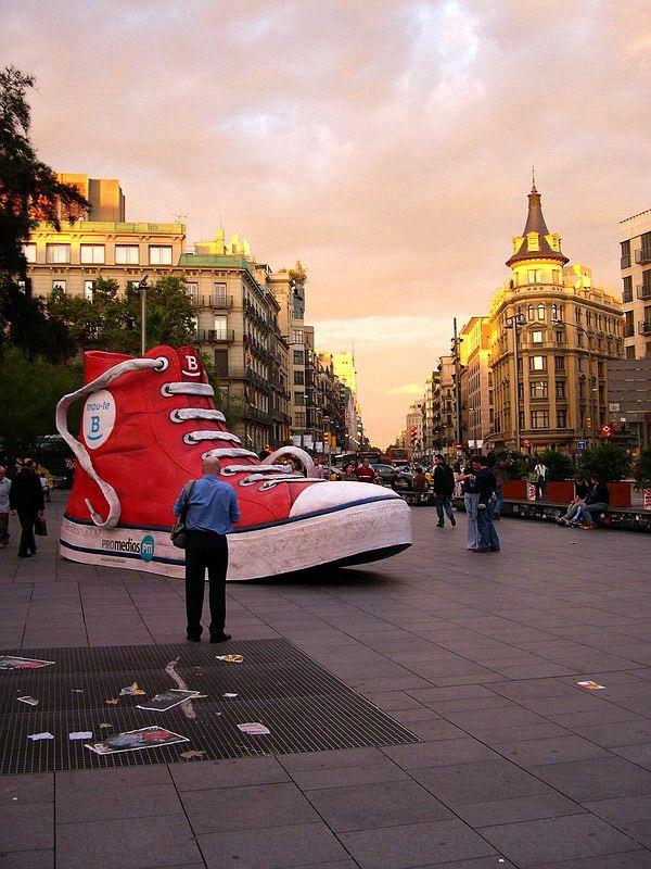 Campaña Mou-te B (Muévete bien) del Ayuntamiento de Barcelona