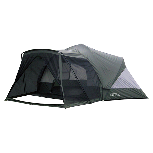 Lake u0026 Trail 9 Person Dome Tent with Screen Room  sc 1 st  Pinterest & Lake u0026 Trail 9 Person Dome Tent with Screen Room | Dome tent and Tents