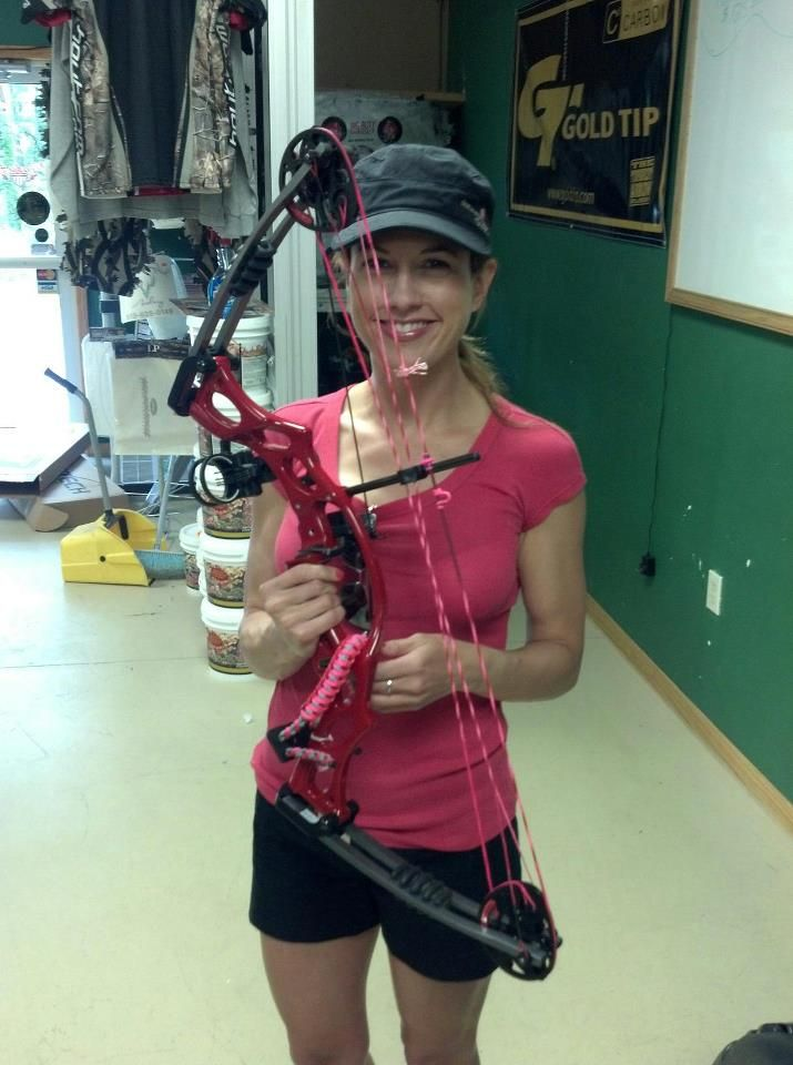 Cha Cha My Hoyt Ruckus Compound Bow In Red The Custom Pinkred
