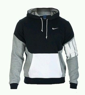 ee170c508fc0 sweater black white pullover menswear nike nike sweater