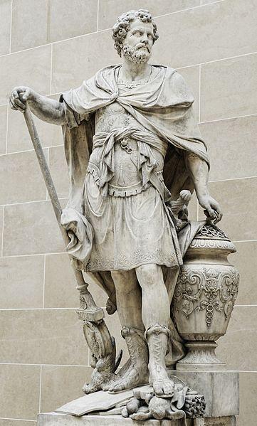 Estatua De Anibal Barca 241 A C 181 A C Por Sebastien Slodtz 1655