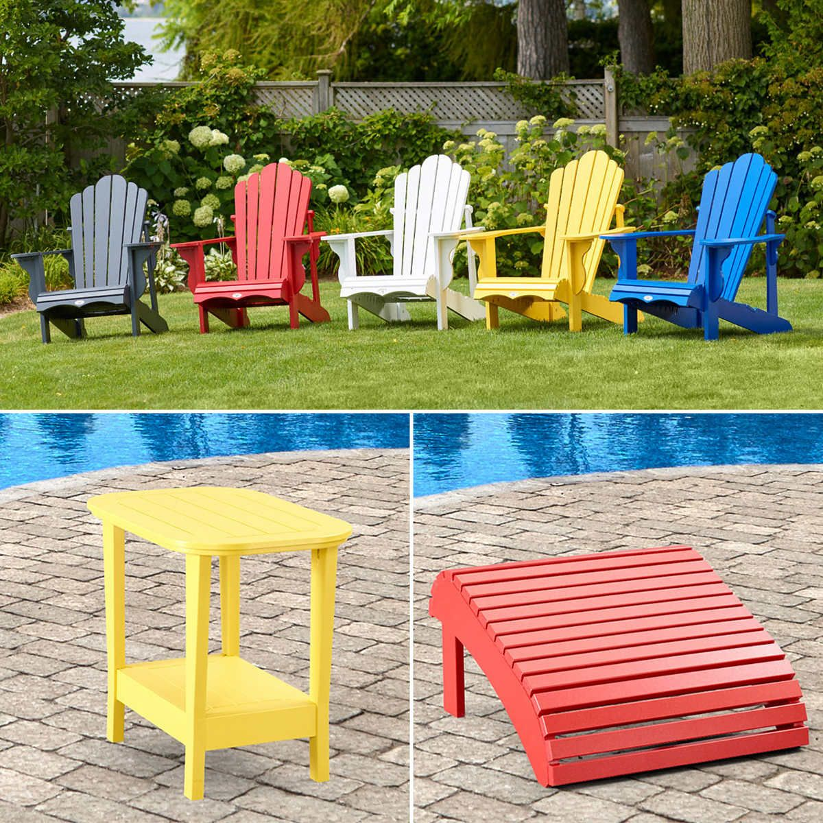 Prescott Adirondack By Polywood Outdoor Chairs Front Patio