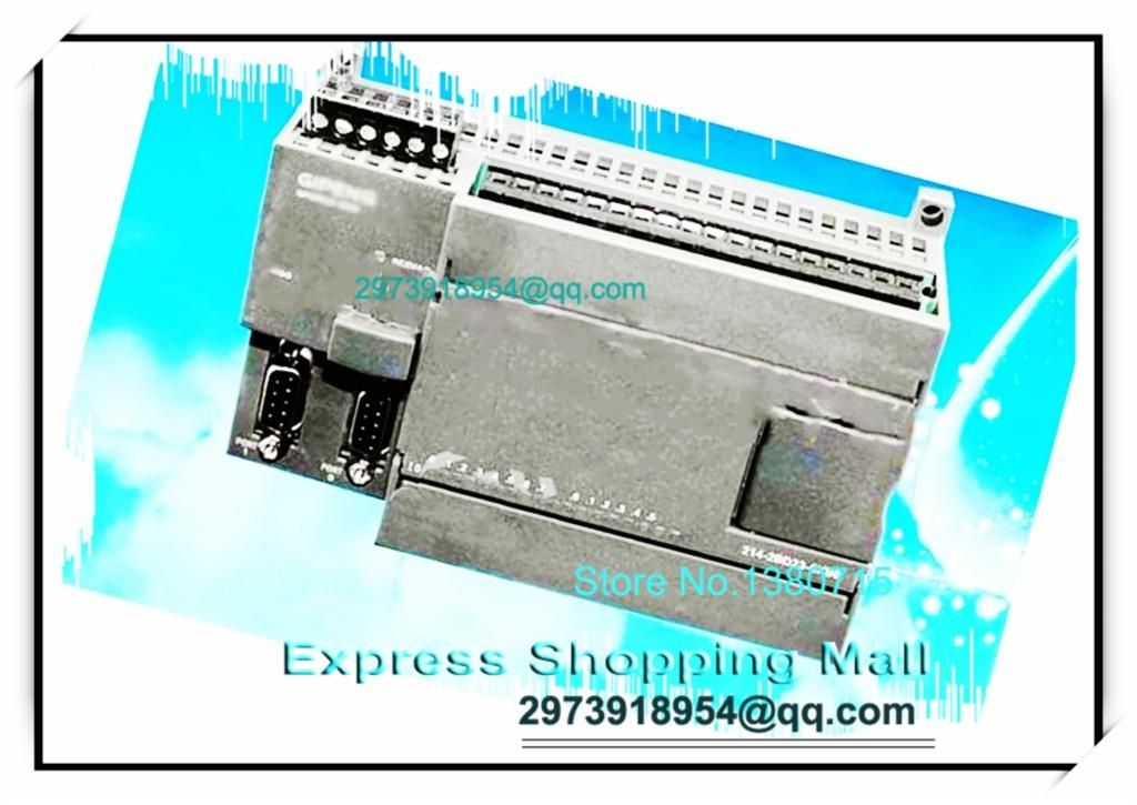 New 14 input 10 Relay output PLC CPU224R-24 replace S7-200