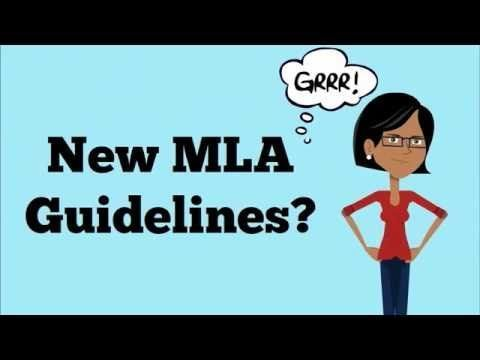 mla 8th edition guidelines made easy english language arts