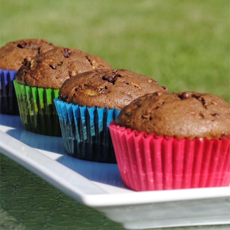 Chocolate Zucchini Muffins Recipe Chocolate Zucchini Muffins Zucchini Muffins Chocolate Zucchini