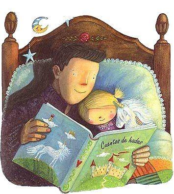 Papa E Hija Beneficios De Leer Imagenes De Cuentos Infantiles Lectura
