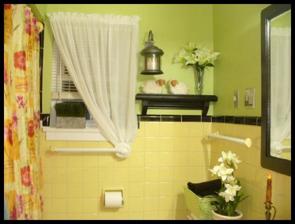17 Best images about Bathroom on Pinterest | Green walls, Blue and ...