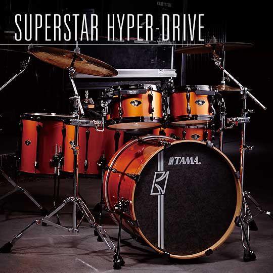 Superstar Hyper Drive Tama Drums Drum Kits Drums Vintage Drums