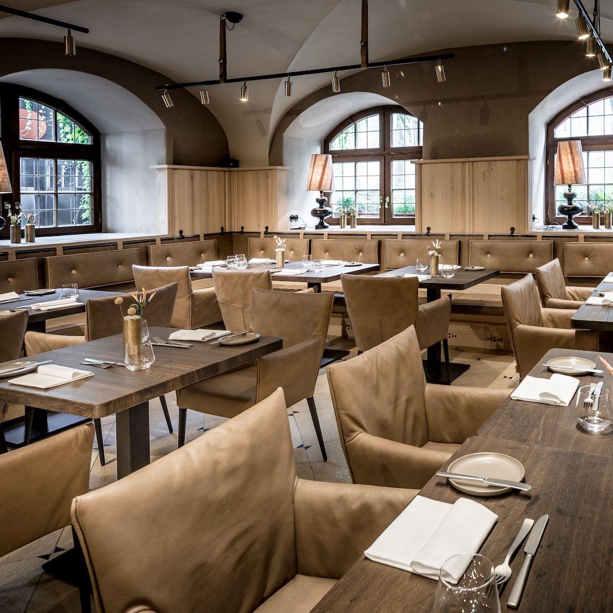 Restaurant Pfistermühle - Gehoben bayerisch essen gehen - München