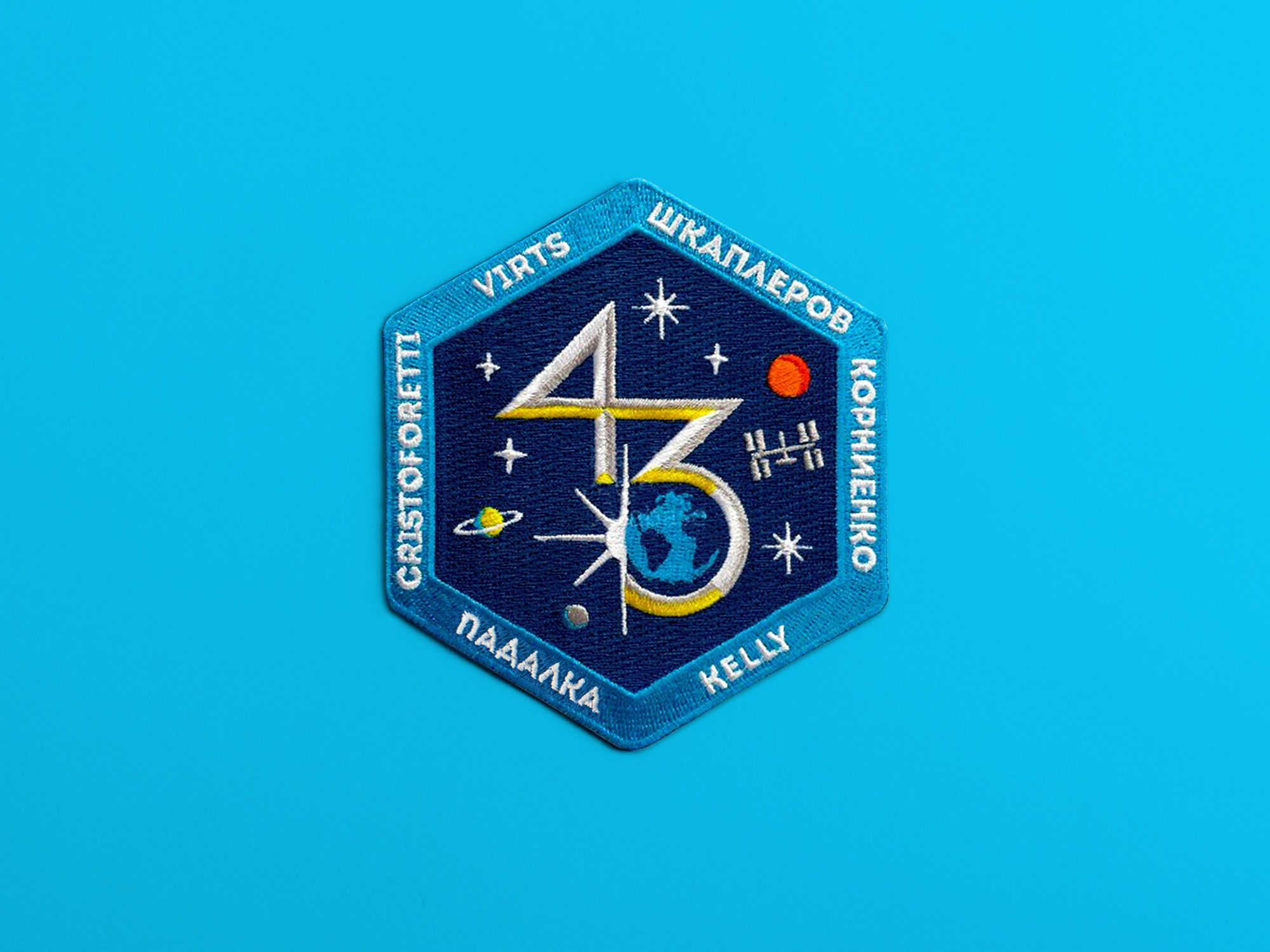 NASA ISS Expedition 43 Matt Lehman Studio Nasa iss