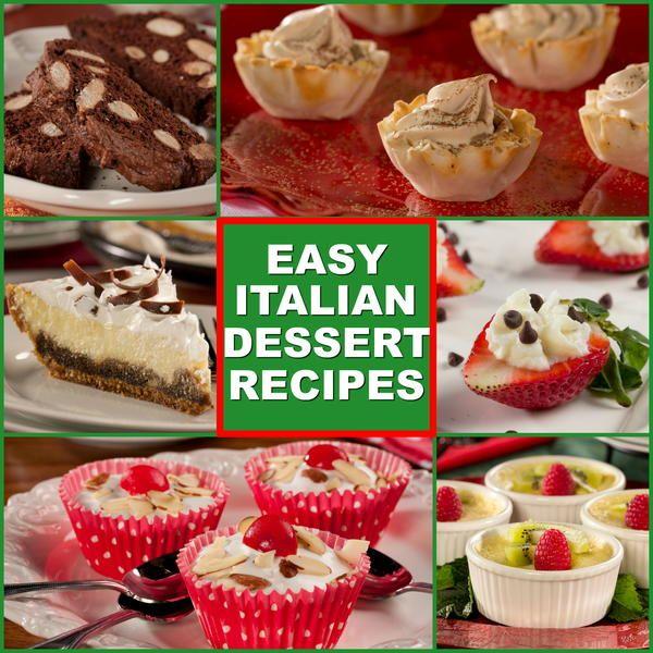10 easy italian desserts diabetes friendly italian dessert food 10 easy italian forumfinder Gallery