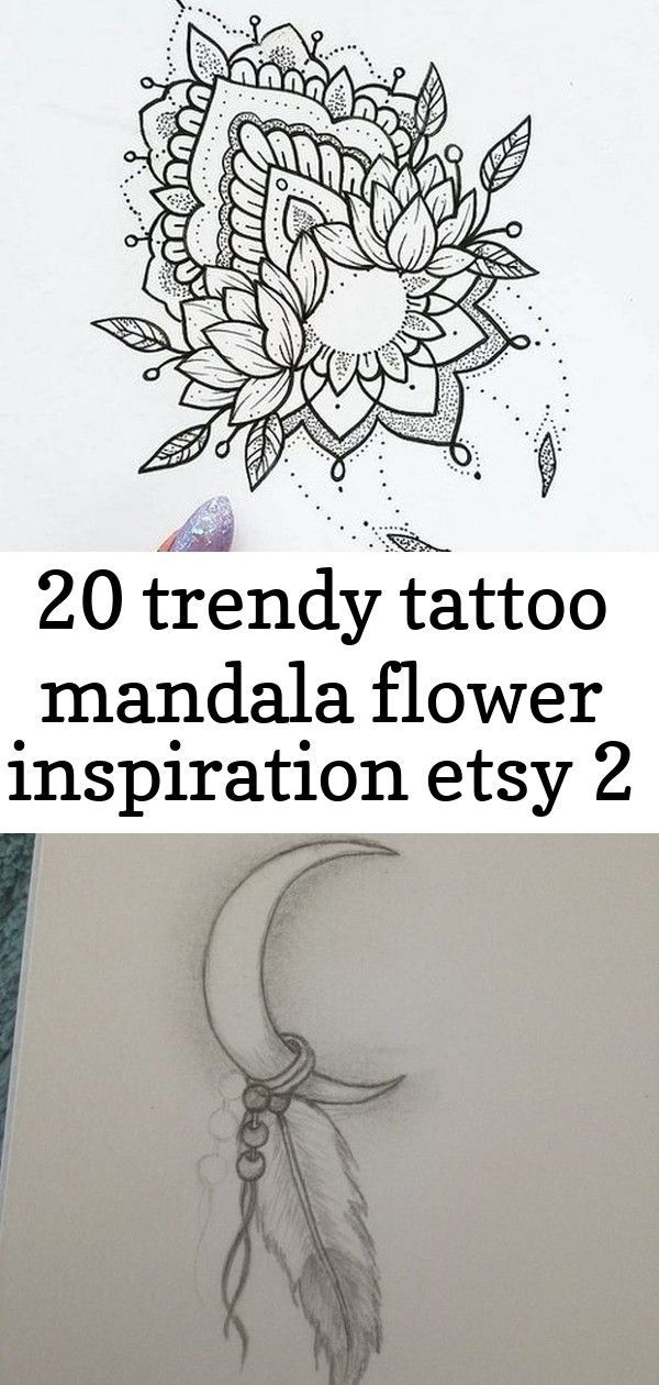 20 trendy tattoo mandala flower inspiration etsy 2 - 20 Trendy tattoo mandala flower inspiration