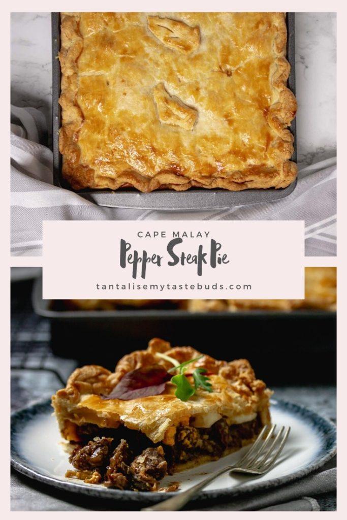Cape Malay Pepper Steak Pie (Vleis Pastei) - Tantalise My ...