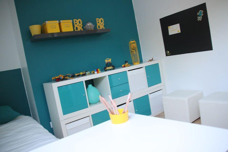 Decoration Chambre Enfant Bleu Et Jaune Decoration Chambre