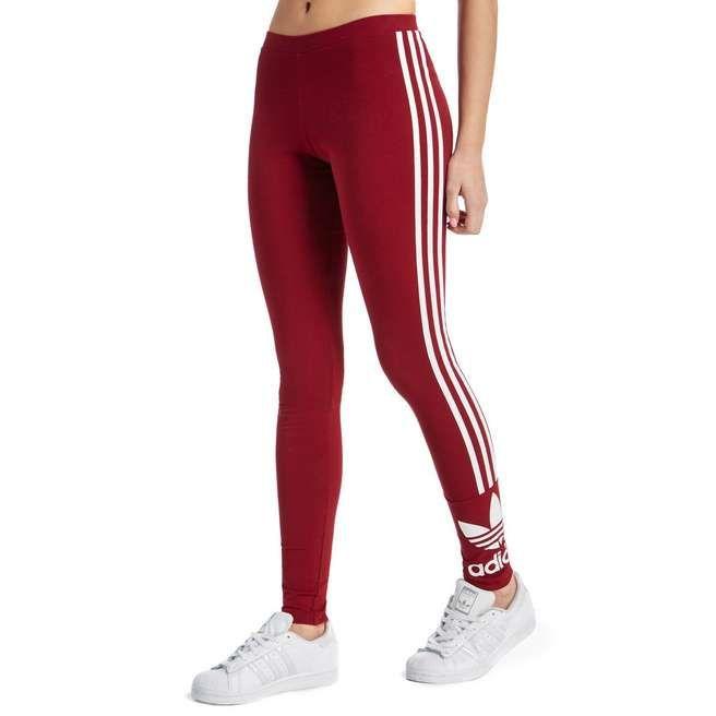 adidas Originals 3 Stripe Trefoil Leggings