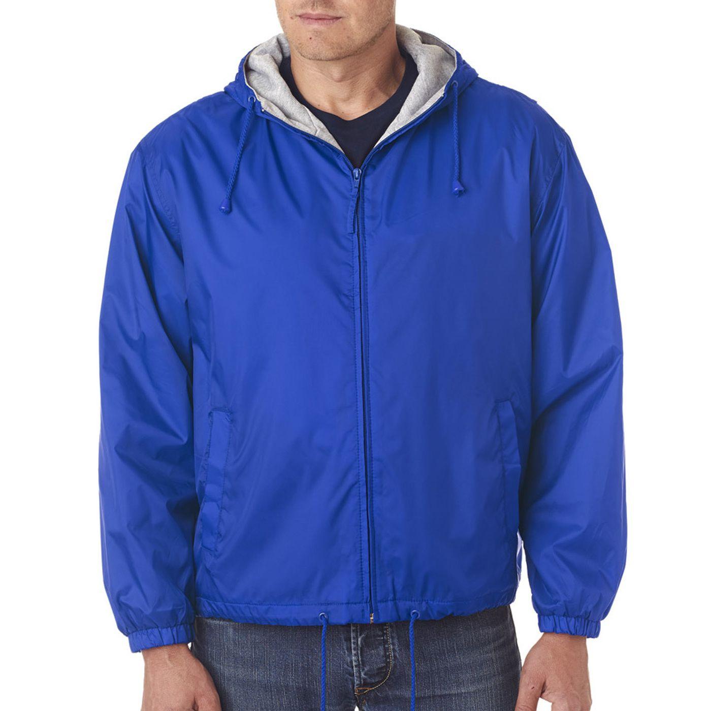 Men's Royal -Lined Hooded Jacket