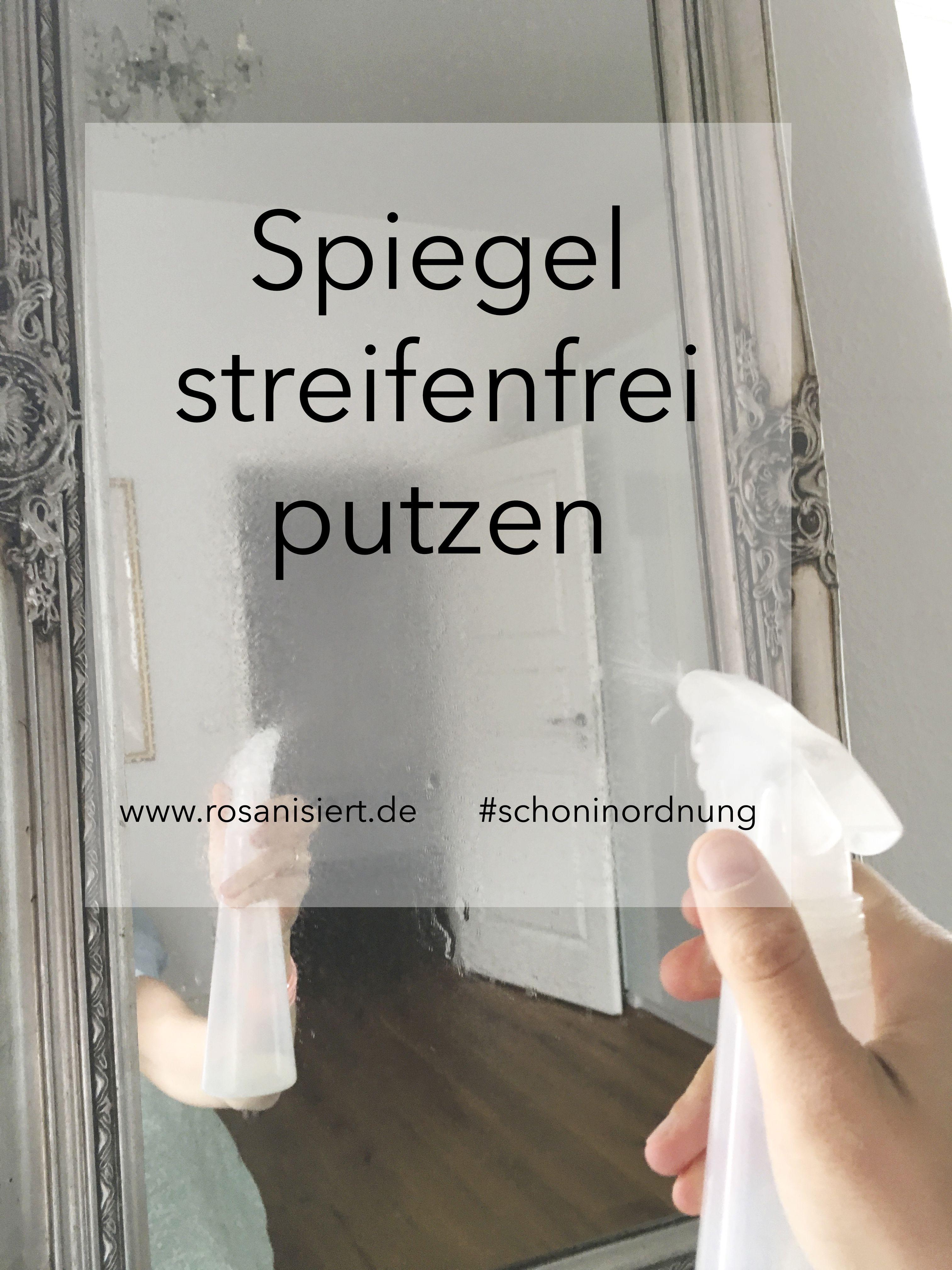 spieglein spieglein streifenfrei spiegelputzen haushalttips pinterest streifen haushalt. Black Bedroom Furniture Sets. Home Design Ideas