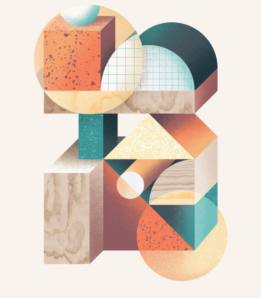 Herman Scheer Brand Studio Quarterly Scroll Brand Studio Artwork Abstract Artwork
