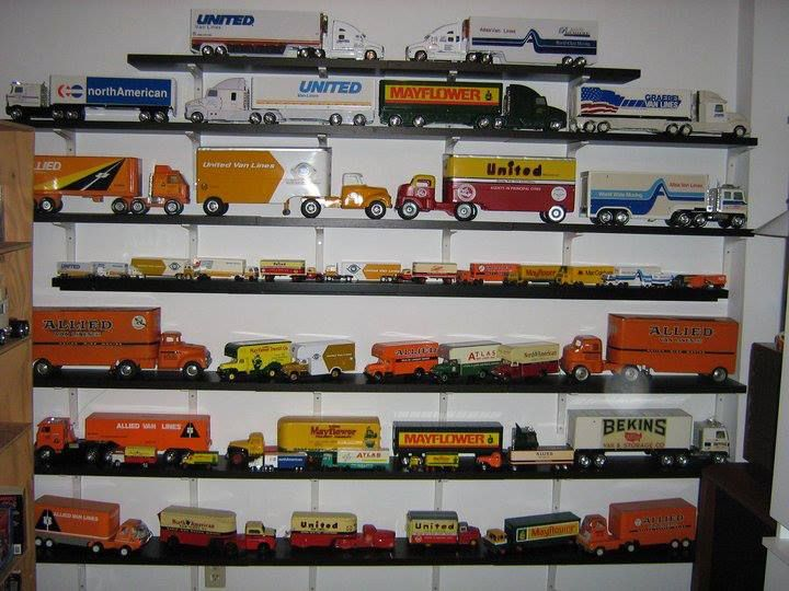 One Of Our Driver S Toy Truck Collection With Images Toy