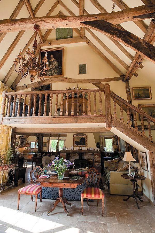 Beautiful Barn Turned Into A Cozy Family Home Barn House Pole