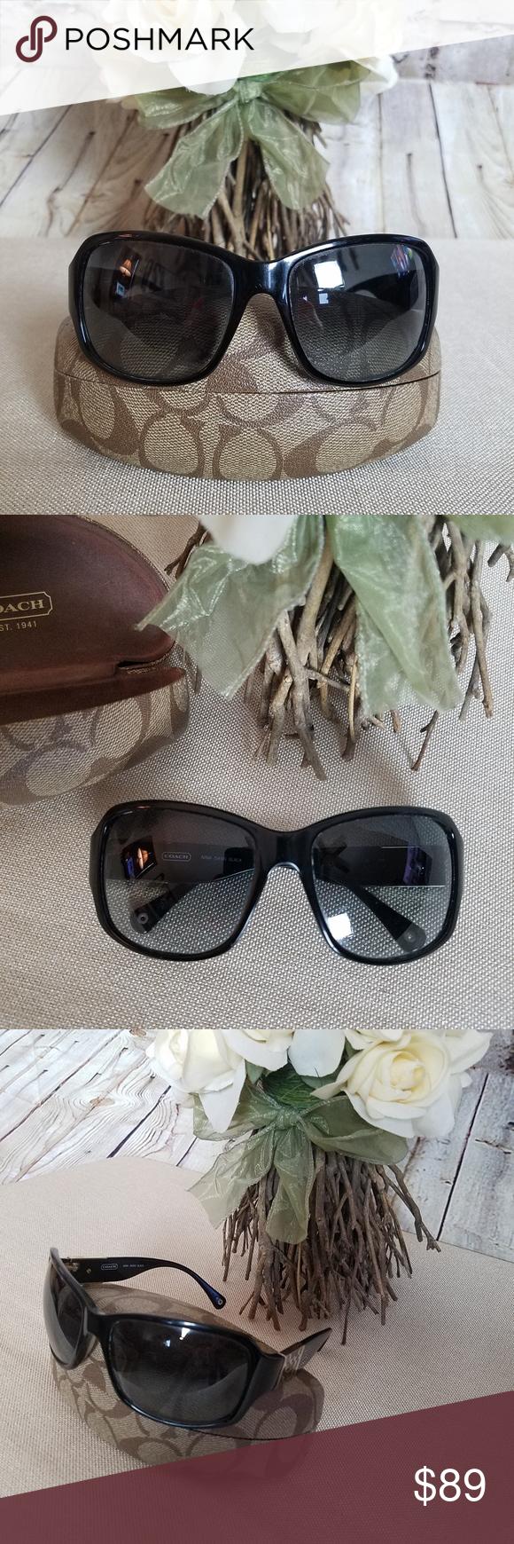 ad85f24baa4a ... wholesale coach nina black gradient signature c sunglasses 4fedf 66e20