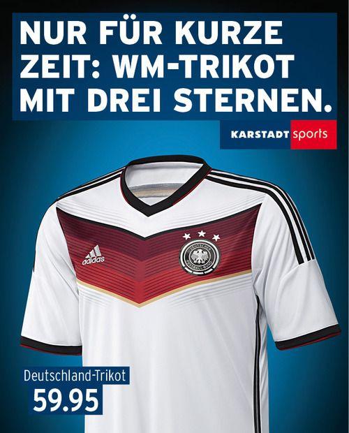Karstadt Sport Deutschland Trikot