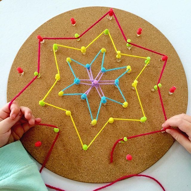 Create your own shapes with this cork board placemat and for Design your own cork board