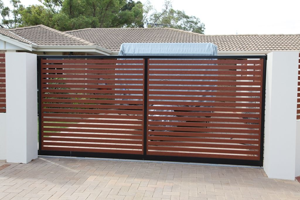 Slat Fencing Perth Contact Simply Slat Fencing For Timber Effect Aluminium Slats Powder Coated Aluminium Slats Slat Gates Auto Aluminium Gates Timber Fence