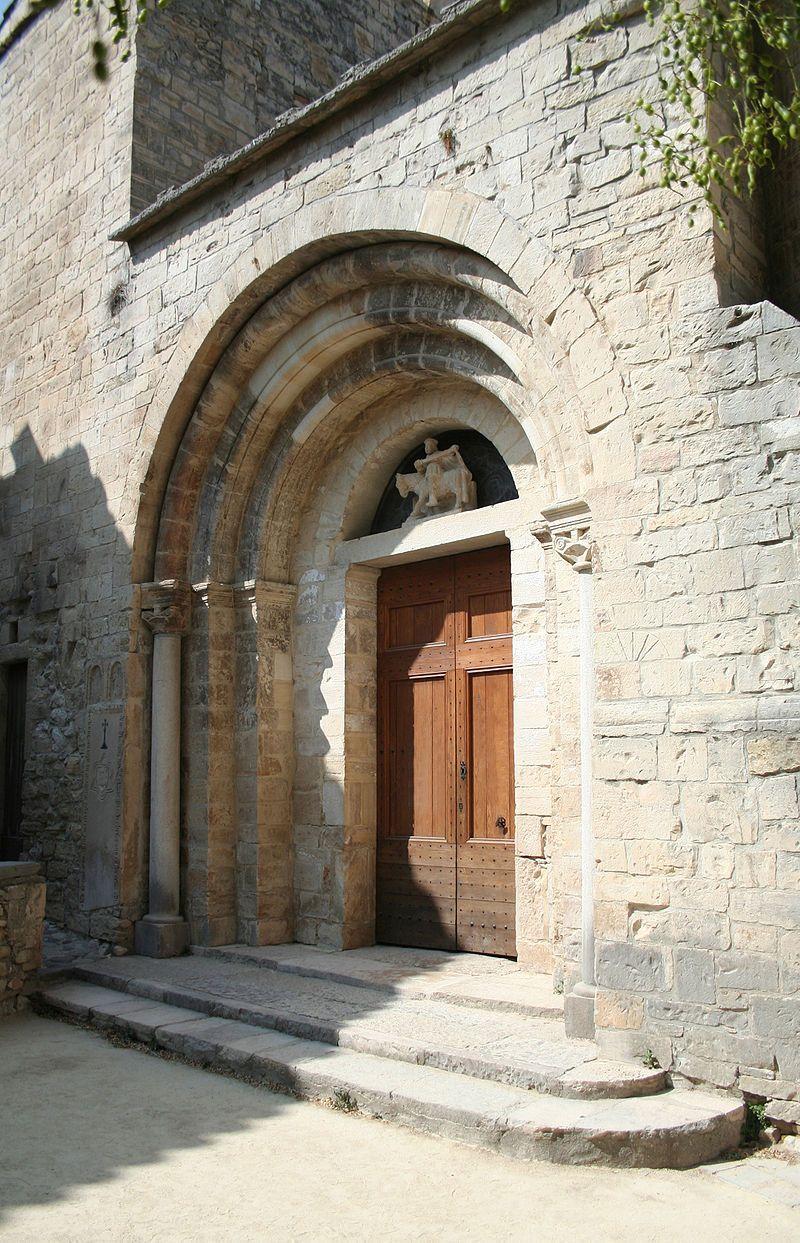 Saint-Martin-de-Londres eglise (portail) - Languedoc