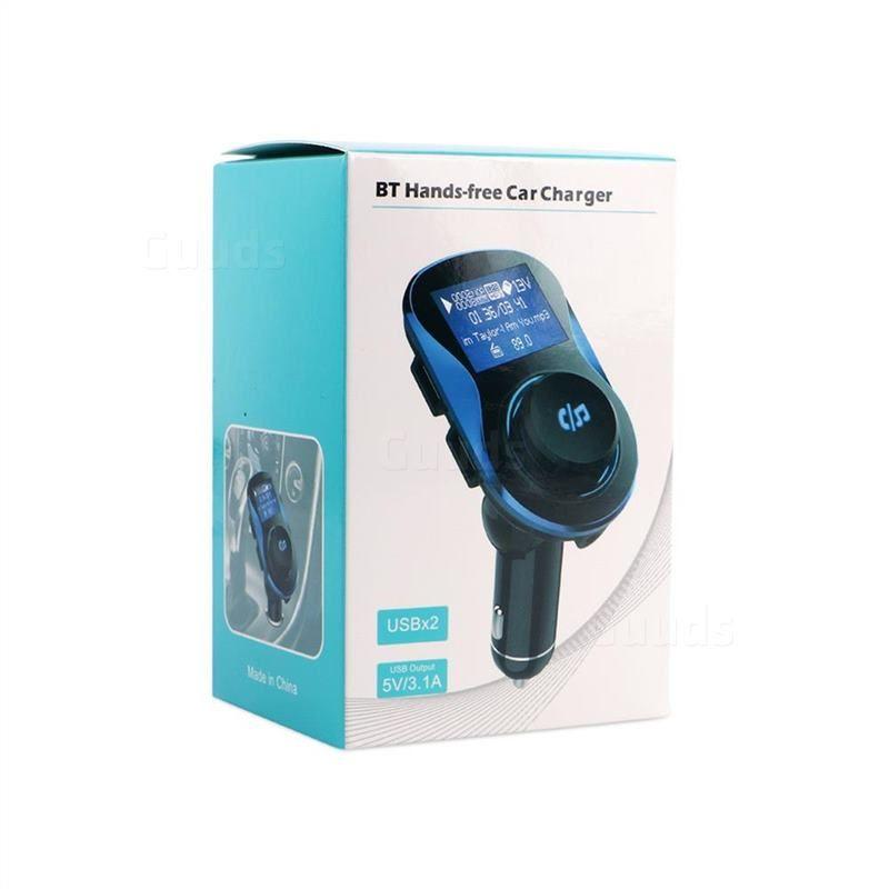 BC28 Bluetooth Wireless FM Transmitter Radio Car Kit MP3