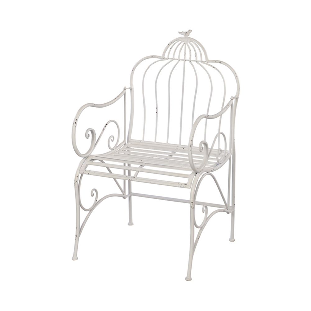 Accent Chair With Cage Bottom: Shop Melrose International 62431 Bird Cage Chair At The
