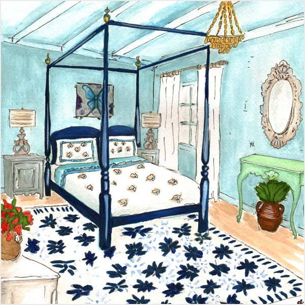 gorgeous! mamma mia girls room | Greek bedroom, Bedroom