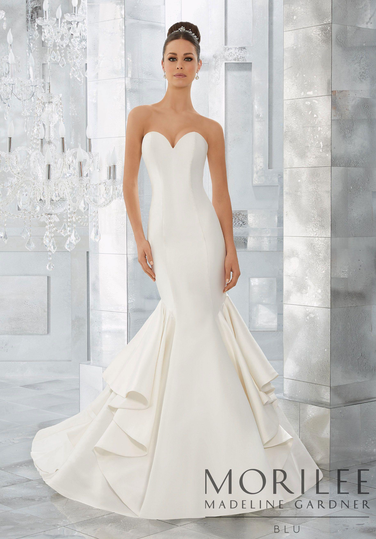 Merci Wedding Dress Morilee Wedding Dresses Satin Wedding Dress Styles Bridal Wedding Dresses [ 2630 x 1834 Pixel ]